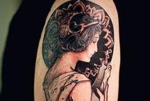 Tattoo Inspiration / Tattoos I love! Wish I had enough money for a 1/4 sleeve
