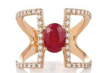 Ruby Red / Ruby is the king of gems. Rock the ruby with Effy Jewelry.