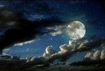 Moon and Magic / Pakanuutta ja maailmankaikkeutta Paganism in universe / by Tiina Susanna
