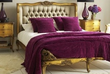 Exotic Style: Purple Passion / This board features decor in purples, plums, lilacs, aubergines, mauve's and burgundies.  / by Kay