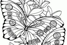 Coloring Pages / by Patricia Dalton
