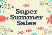 Super Summer Sales/ Promotion 2014 / Great Summer Sales at Sunny Side!