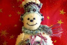 Christmas: Felt Crafts / by Patricia Dalton