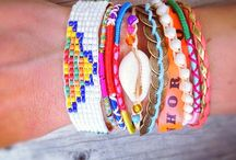 bracelets + / Bracelets, necklaces and other jewelry, DIY and tutorials / by zuuz