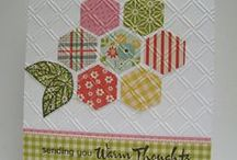 quilted/sewing cards