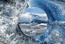 Ice-Crystal-Snow Sculptures