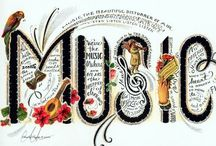 Music / Expressions of the soul.....that can bring me to tears with their beauty / by Marianne Ball