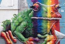 Graffiti & Streetart / Street Art that inspires me  / by Nathalie Kalbach