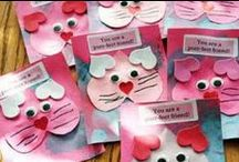 Homemade Valentines for Kids / by Kathryn Lavallee