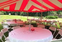 Bedford Tent / Creative party tents! Call 734-854-TENT (8368)