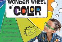 Wonderful Colorful Wonder Wheel of Color / Fabulous color & activity book