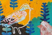 Projects with my n*Studio Bird Stampset / by Nathalie Kalbach