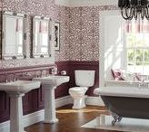 English Bathroom / English and Traditional Bathroom and Loo ideas for decoration and design style / architecture
