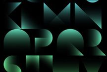 design / typography / by Karin Onsager-Birch