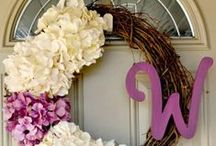 CRAFTY... wreath