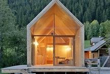 architecture/ hytte / cabin  / by Karin Onsager-Birch