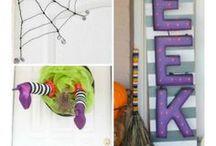 Halloween Decor and Entertaining / Halloween Decor, Halloween Party Ideas, Halloween Crafts