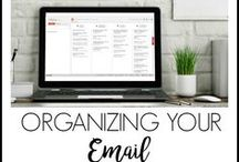 Organize Information / organizing information ~ digital organization ~ organizing email ~ organizing projects ~ organizing tax documents