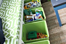Organize Playroom & Toys
