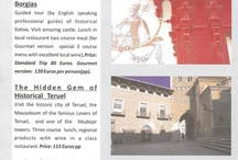 Our  Day Trips / Copy of our Day trips leaflet.All trips from Valencia / by Spanish ThymeTraveller