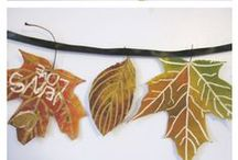 Autumn Crafts for Kids / Fallen leaves and pumpkins provide the perfect inspiration for crafty creations with kids / by Connections Academy