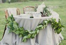 Wedding // Inspiration / Backyard Garden Chic