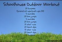 Work Out At Home / A collection of at-home work outs or workouts that require minimal equipment so you can do them on the road or wherever! Mix it up :)