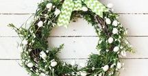 Spring Home Decor Ideas / Spring and Easter decor, party planning and activities