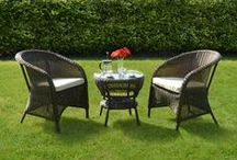 Garden Furniture / Relax, unwind and make the most of the good weather! All poly-rattan sets are low maintenance, weatherproof and easy to care for. Perfect for your conservatory, garden patio, gazebo or decking area.