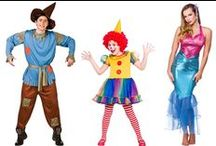 Fancy Dress Costumes / Perfect for Halloween, themes parties and hen/stag do's, check out our board of fantastic fancy dress costumes for men, women and kids. To view our full collection head to www.xs-stock.co.uk!