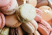 Macarons or Macaroons? / Gorgeous melt in the mouth, stylish treats filled with ganache, buttercream or jam - what's not to LOVE!