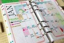 ART JOURNAL... planner/agenda/filofax / Creative pages for your planner, agenda or filofax