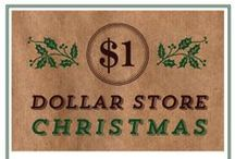 Dollar Store Christmas / by Erin Huffstetler