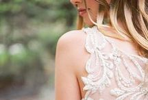 Wedding dresses with Dramatic Backs / Dramatic back treatments on wedding dresses reign supreme in bridal trends... Adorned with sparkling Swarovski crystals, illusion backs, plunging open backs and sophisticated cutouts are here to stay.