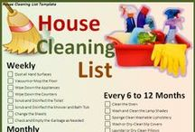 DOMESTIC... cleaning schedule