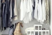 Organize Closets / Closet organization | closet decluttering | organized closets | how to organize closets | organize your clothes | wardrobe organization | clothing organization