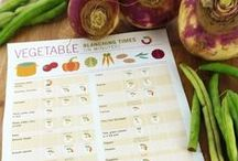 Kitchen Reference / Use these handy printables to make your time in the kitchen easier and more productive. / by Erin Huffstetler