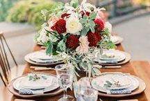 Fall Wedding Inspiration / Fall weddings are picking up steam, challenging the ever-popular spring wedding. Here, we have our favorite fall wedding inspiration ideas!