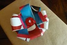 Homemade Gift Wrap / Use these free printables and how-tos to make your own gift wrap.