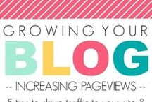 Blogging / Tips and tricks for starting a blog, improving your blog, and growing your following!