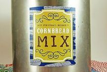 Homemade Mixes / Replace pricey, chemical-laden store-bought mixes with your own homemade version. / by Erin Huffstetler