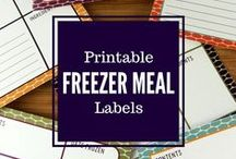 Label It / If you have a love for labels, you've come to the right place. All of these printable labels are free! / by Erin Huffstetler
