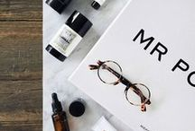 MWB | Grooming / A board dedicated to grooming products for men, from shaving cream, moisturiser and hair styling products.