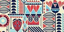 Tribal / Estampas, acessórios, roupas e decoração com estampas tribais.