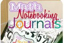 Math - Journals/Foldables/Notebooks