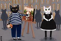 because I'm going to be a Crazy Cat Lady...oh wait!  I already am! / by Jane Engle