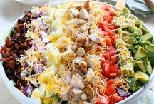 Recipes to Make--Salads and Fruits