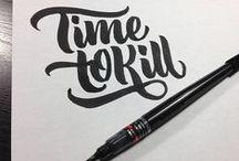 Typo / Handlettering / #Typo #Lettering #handlettering #ink