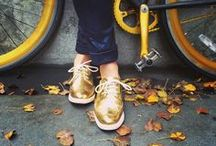 Gold  / Make new friends, but keep the old; Those are silver, these are gold. / by Cole Haan
