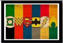 super (heroes) / by julochka 